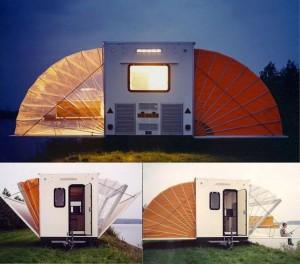 pomysł na przyczepę campingową